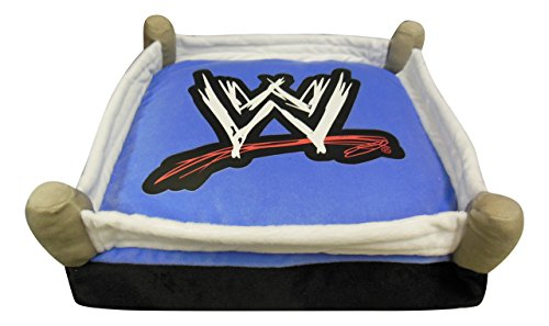 WWE in The Ring Cuddle Pillow, 16 by 16-Inch by WWE