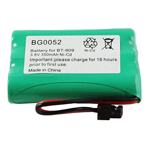 (WalR Rechargeable Cordless Phone Battery Ni-CD, for Uniden DCT7565 DCT758 DCT7585 DCX750 DECT 1500 DECT1500 DECT 1588-5 DECT1588-5 TRU-12803 TRU-226 TRU-9260 TRU-9260-2)