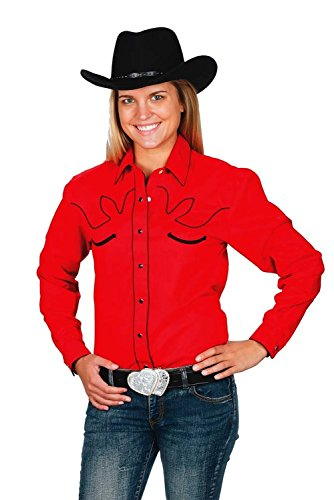 Western Express Women's Cotton Retro Cow Shirt