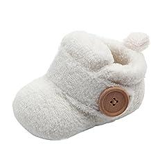 Orangeskycn - Zapatillas de cuna para bebé, diseño redondo, suaves