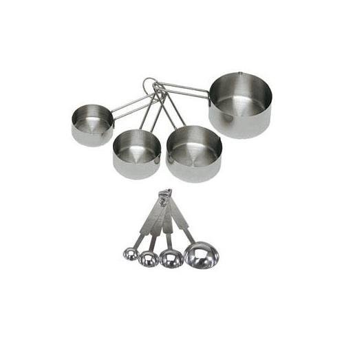 ChefLand 8 Piece Stainless Steel Measuring