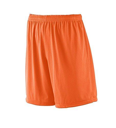 Augusta Sportswear MEN'S TRICOT MESH SHORT/TRICOT LINED L Orange Augusta Sportswear Mesh Shorts