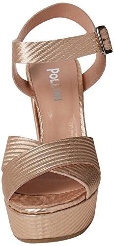 Pollini Women's W.Sandal Ankle Strap Sandals Pink (Quarzo 913) OSCHW