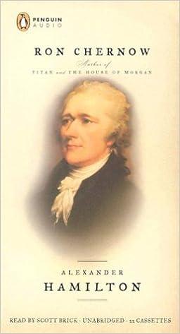 Alexander Hamilton: Amazon.es: Chernow, Ron, Brick, Scott ...