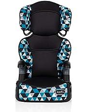 Evenflo 31912381C Big Kid Highback 2-In-1 Belt-Positioning Booster Car Seat (Boston Blue