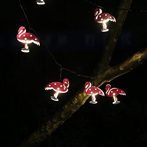 RUICHEN(TM) Solar Powered 20 LED Flamingo,Indoor&Outdoor ...