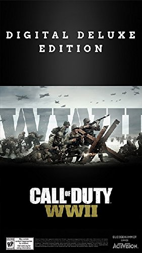 Call of Duty: WWII Digital Deluxe - PS4 [Digital Code] by Activision