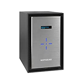 "NETGEAR ReadyNAS RN628X00 8 Bay Diskless Ultimate Performance NAS, 80TB Capacity Network Attached Storage, Intel Xeon 2.2GHz Quad Core Processor, 8GB RAM 6 ULTIMATE PERFORMANCE - Up to 20 gigabit per second data access and amazing processing power to perform business and media applications 2X 10GbE ports to utilize your 10G infrastructure for fast data sharing and backup throughput. Drive Types Supported SATA/SSD 2.5"" or 3.5"" HIGH-PERFORMANCE - Get 2x faster business application processing with the latest 64-bit technology"