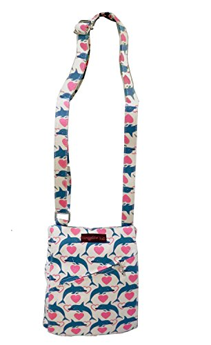 Bungalow360 Women's Accessories - Dolphin Pattern Collection (Small (Dolphin Bag)