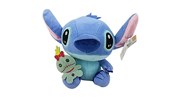 6e5b4a2f311 Amazon.com  Disney s Stitch and Scrump Small Suction Cup Plush Toy (7in)   Toys   Games