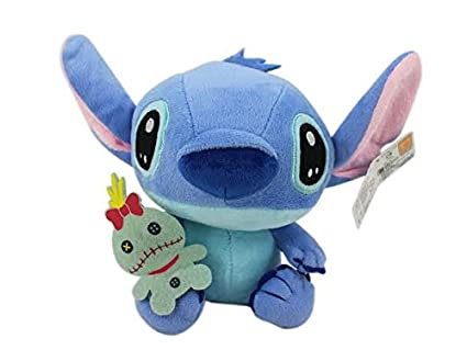 5ce2dd0fff5 Image Unavailable. Image not available for. Color  Disney s Stitch and  Scrump Small Suction Cup Plush Toy ...