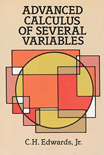 Advanced Calculus of Several Variables (Dover Books on Mathematics) -