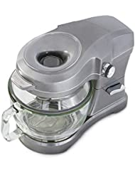 Kenmore Elite Ovation 49090 Exclusive Pour-In Top, 5-Qt. Tilt-Head Kitchen Stand Mixer, Metallic Grey