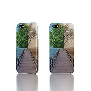 Apple iPhone 4 / 4S Case - The Best 3D Full Wrap iPhone Case - Half Life Tree