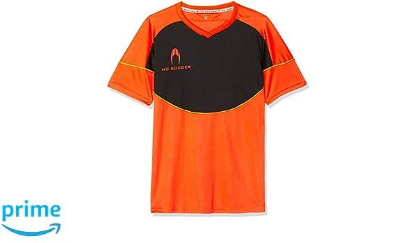 Ho soccer Legacy Camiseta de Portero Manga Corta, niños, Naranja/Negro/Lima, 14 años: Amazon.es: Deportes y aire libre