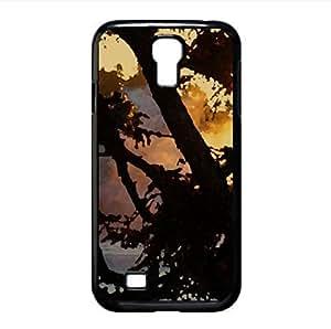 lintao diy Lake 45 Watercolor style Cover Samsung Galaxy S4 I9500 Case (Lakes Watercolor style Cover Samsung Galaxy S4 I9500 Case)