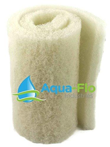 20x 72x 2 White Aqua-Flo Coarse Bulk Filter Media Roll for Koi Pond, Waterfall Filters, & Skimmers Aqua-Flo Industries