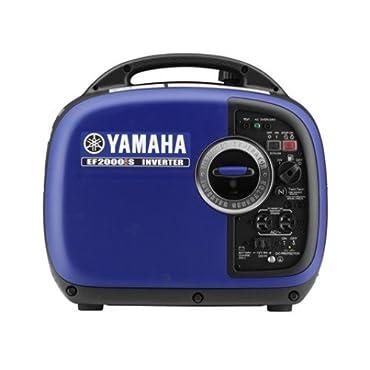 Yamaha EF2000iSv2, 1600 Running Watts/2000 Starting Watts, Gas Powered Portable Inverter