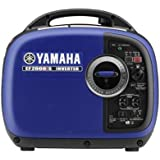 Yamaha EF2000iSv2, 1600 Running Watts/2000 Starting Watts, Gas Powered Portable Inverter, CARB Compliant