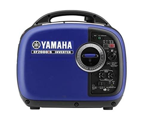 Yamaha EF2000iSv2, 1600 Running Watts/2000 Starting Watts, Gas Powered Portable Inverter (Portable 2000w Generator)