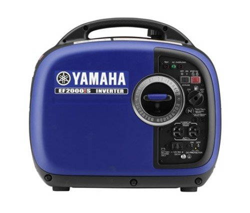 Yamaha EF2000iSv2, 1600 Running Watts/2000 Starting Watts, Gas Powered Portable Inverter, CARB Compliant made our list of best quiet generators for camping and best small generators for camping