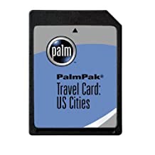 PalmOne PalmPak Travel Card: US Cities (m125, m130, i705 & m500 series)