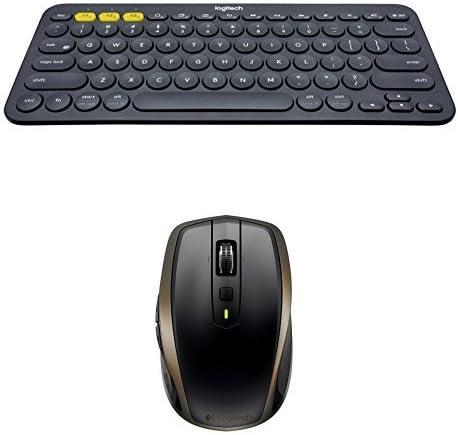Logitech - Teclado Bluetooth K380 + Ratón inalámbrico MX ...