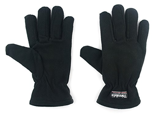 Outray Women's Polyester Fleece Keep Warm Gloves 4422C1 (Lady Fleece Glove)