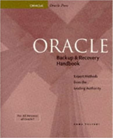 Oracle Backup And Recovery Rama Velpuri Pdf Download