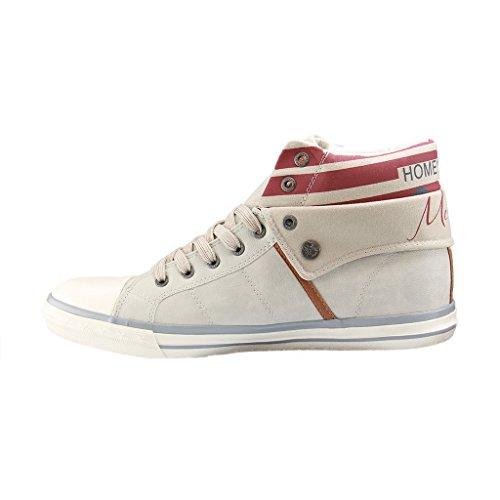 203 Top Grigio Sneaker Mustang ghiaccio High 503 Donna 203 203 Grigio Grau ice 1146 wvFvq