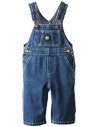 John Deere Baby-Boys Newborn Denim Overall