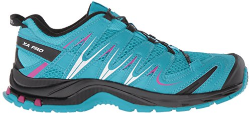 Salomon Womens Xa Pro 3d W Trail-runners Blue Jay / Black / Deep Dalia