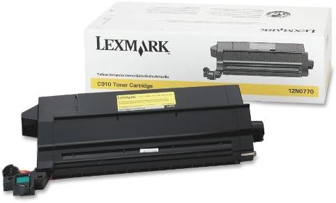 14000 Page-Yield Lexmark 12N0771 12N0771 Toner Black