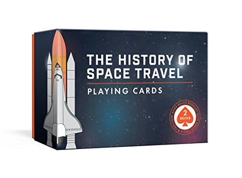 The History of Space Travel Playing Cards: Two Decks and Game Rules Booklet with Space Trivia