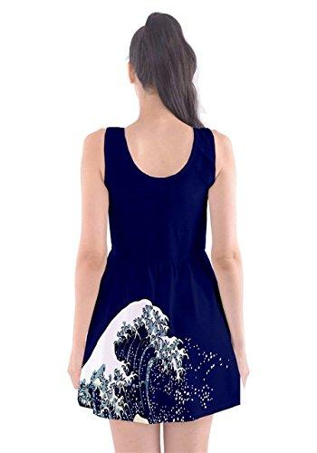 CowCow - Vestido - para mujer azul marino