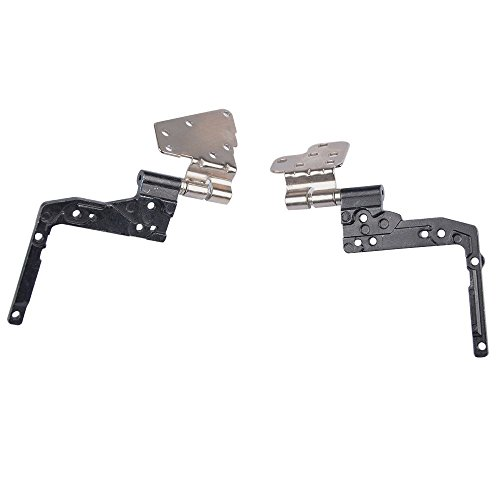Replacement LCD Screen Hinge Hinges Set Left Right for Dell Latitude E5530 5530 series, Compatible part number AM0M1000100 AM0M2000200 by Dragon King