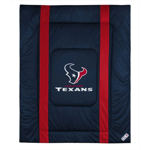 Comforter Sidelines Texas (NFL Houston Texas Twin Sideline Comforter)