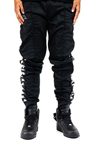 Rastoria negro Banda Slim 303kuc0 Uomo negro Kappa Pantalone 222 J61 Trousers Sport nSgxYw1q