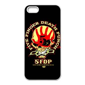 Five Finger Death Punch Brand New And Custom Hard Case Cover Protector For Iphone 5s