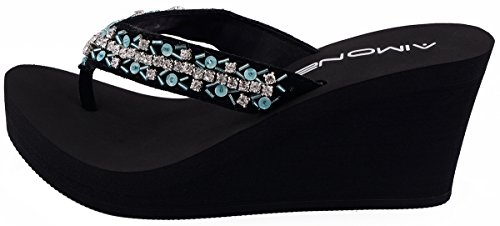 AIMONE Womens Appoline Flip Flop Sandals Mint Green DsRT2yIDK