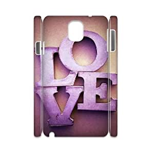 kimcase Custom Love 3D Cover Case for Samsung Galaxy Note3 N9000