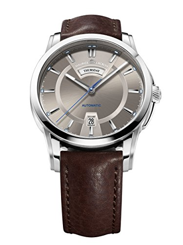 maurice-lacroix-pontos-day-date-mens-brown-dial-automatic-swiss-watch-pt6158-ss001-73e
