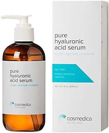 COSMEDICA Hyaluronic Acid Serum, 8 Ounce