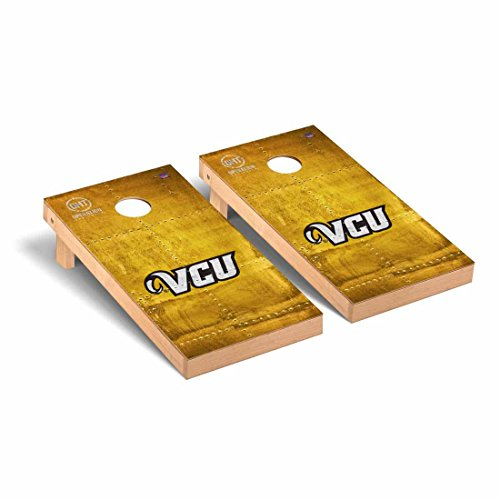 Virginia Commonwealth University Rams VCU - Operation Hat Trick Cornhole Game Set Rivet - OHT Rivet by Victory Tailgate