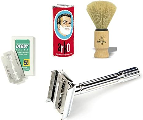 Shaving factory - Kit de afeitado completo SF200