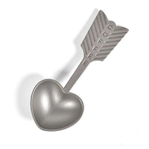 (Beehive Handmade Heart Coffee Scoop)