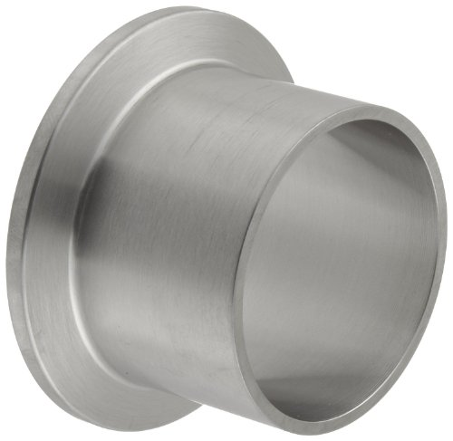 - Dixon L14AM7-G150 Stainless Steel 304 Sanitary Fitting, Long Weld Clamp Ferrule, 1-1/2
