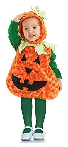 [Underwraps Toddler Pumpkin Costume, Large 2T-4T] (Pumpkin Toddler Costumes)
