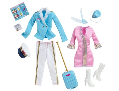 Barbie I Can Be Flight Fashion Pack by Barbie