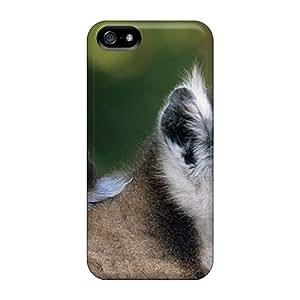 For Iphone 5/5s Fashion Design Lemurs Case-iCZ12621qiic